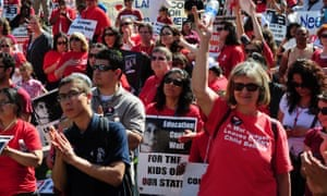 'There's no paper in the classroom': why Los Angeles teachers are moving toward a strike