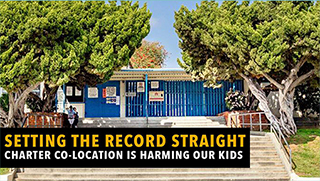 Setting the record straight, charter co-location is harming our kids