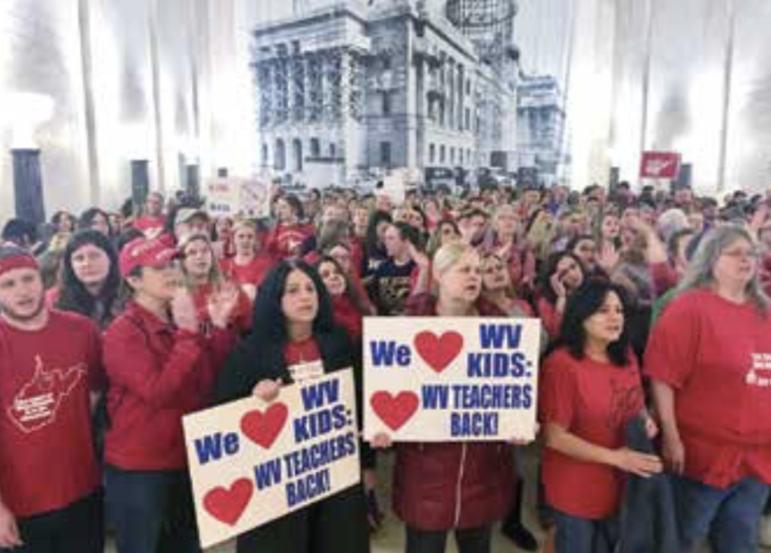 WEST VIRGINIA: Shutting down schools to stop privatization