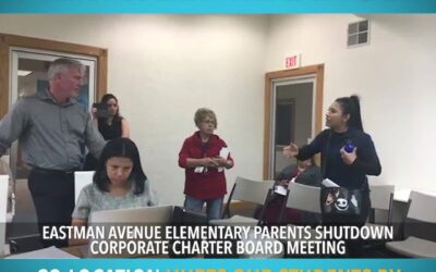 East LA moms are fed up with the charter company invasion at their school