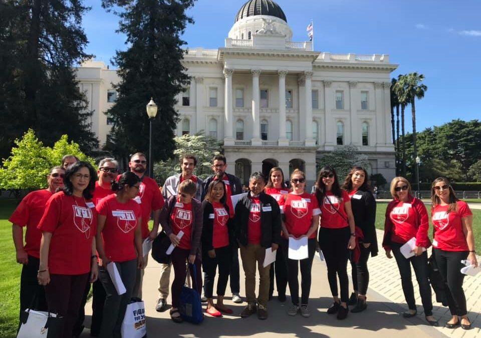 Parents and educators take charter accountability fight to legislators