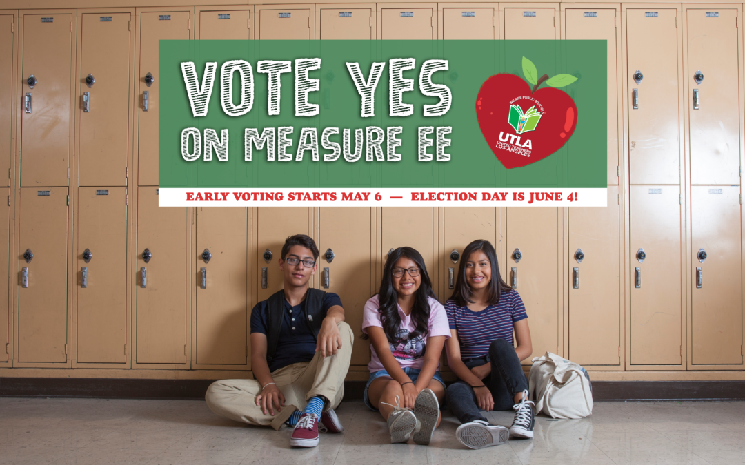 Vote YES on Measure EE. Visit EEforkids.com to pledge your support.