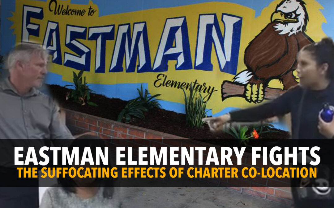 Co-location Fightback: Eastman elementary fights harm caused by EXTERA charter company