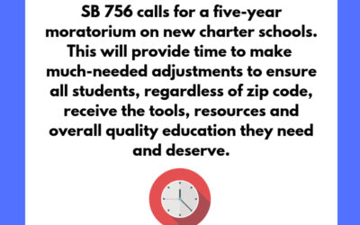 BREAKING: Moratorium on New Charter Schools (#SB756) Clears Senate Education Committee