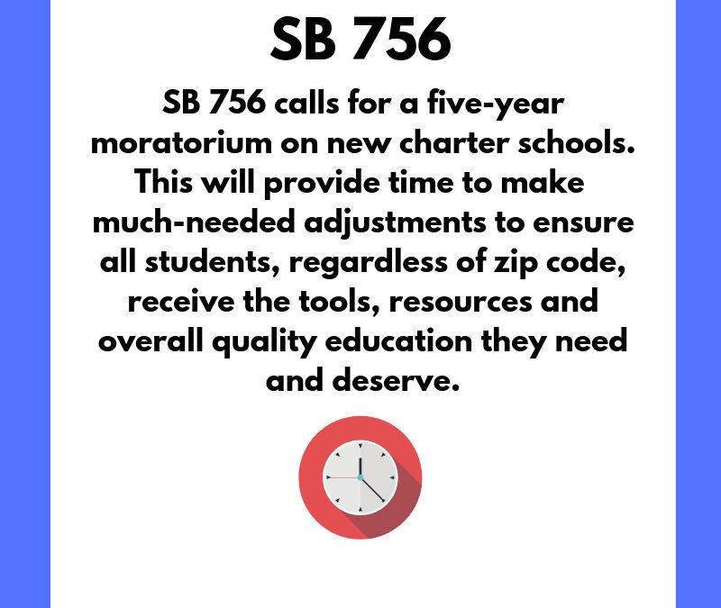 BREAKING: Moratorium on New Charter Schools (#SB756) Clears Senate Education Committee