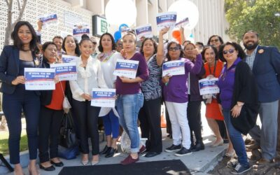 Article by the Los Angeles Sentinel: Los Angeles Families, Civil Rights Leaders, and Labor Unite in Support Measure EE