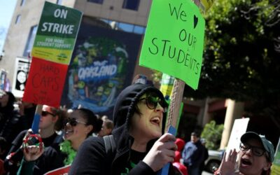 USA Today article: Strikes, pay raises & charter protests: America's teachers' exhausting, exhilarating year