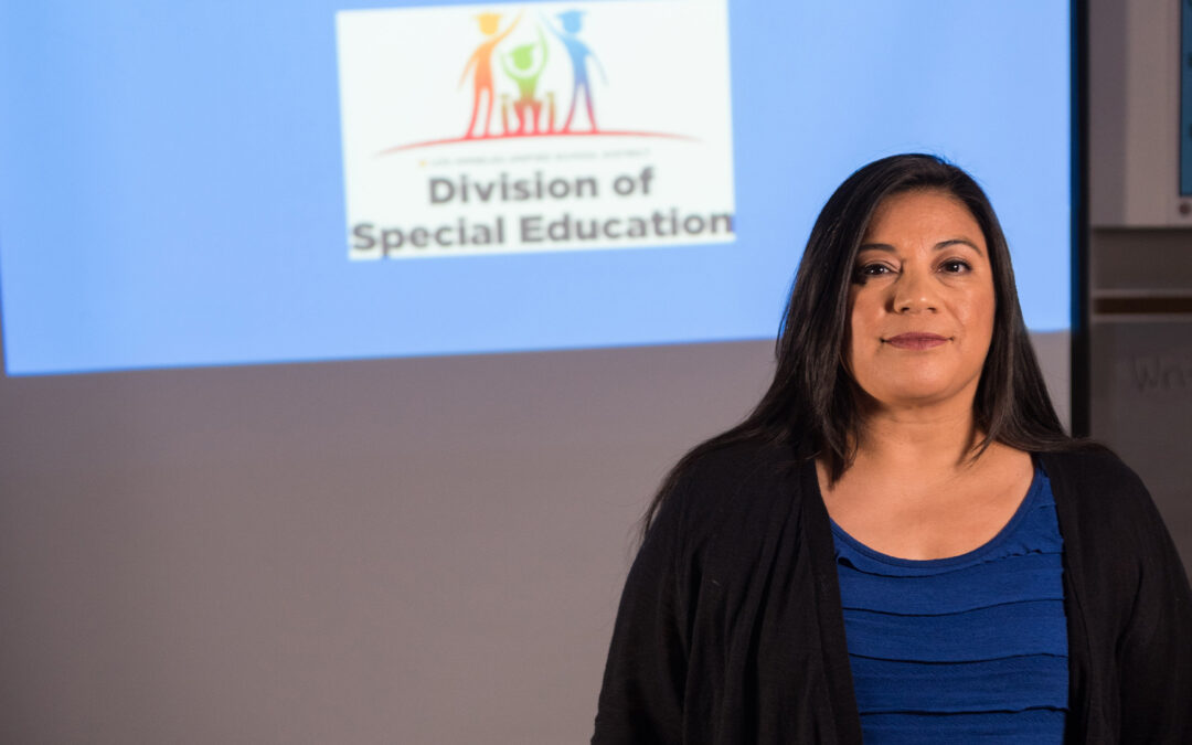 """I see possibilities in every child."" – Karla Griego"
